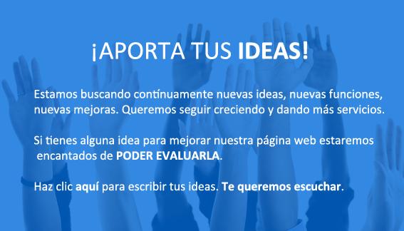Págna para aportar ideas